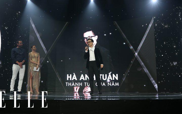 elle style awards ha anh tuan 9 720x450 - Hà Anh Tuấn trở thành chủ nhân giải thưởng Thành tựu của năm tại ELLE Style Awards 2018 - Môi Đẹp Cuồn Si