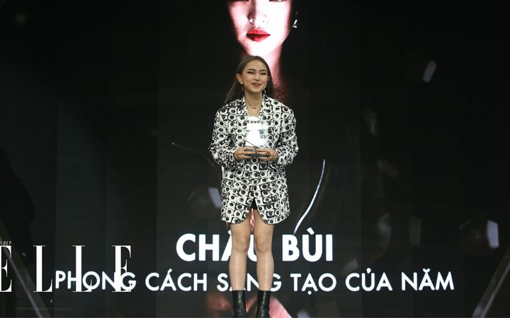 elle viet nam elle style awards 2018 6 720x450 - Châu Bùi trở thành Young Style Innovator của ELLE Style Awards 2018 - Môi Đẹp Cuồn Si
