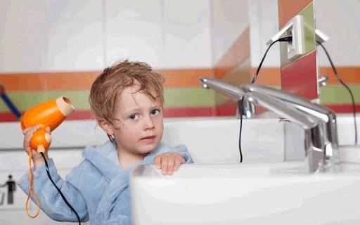 khong su dung dien trong phong tam - Top 6 lưu ý cần thiết khi sử dụng đồ điện trong nhà