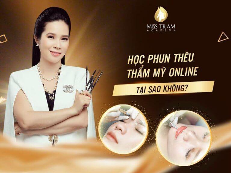 hoc phun theu tham my online 768x576 - Top Spa Dạy Chăm Sóc Da, Phun Xăm Thẩm Mỹ Ở An Giang