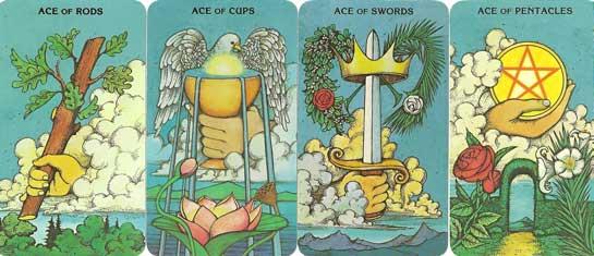 2572 Ace cards - Top 4 Lưu Ý Về Thời Gian Trong Tarot